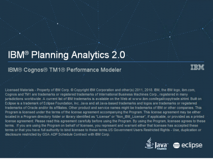 Planning Analytics 2.0.8 and below - end of support, September 30th 2021